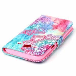 Pictu peňaženkové puzdro pre Samsung Galaxy J5 - henna - 5