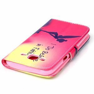 Pictu peňaženkové puzdro pre Samsung Galaxy J5 - víla - 5