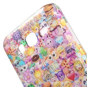 Gloss gélový obal pre Samsung Galaxy J5 - smajlíci - 5