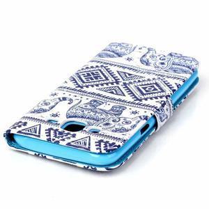 Pictu peněženkové pouzdro na Samsung Galaxy J5 - sloni - 5