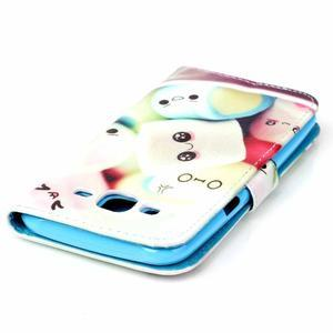 Pictu peněženkové pouzdro na Samsung Galaxy J5 - kokina - 5