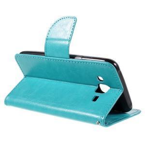 Peňaženkové puzdro pre mobil Samsung Galaxy J5 - modré - 5