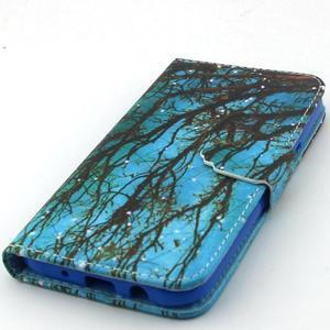 Knížkové puzdro pre mobil Samsung Galax J5 - strom - 5