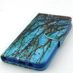 Knížkové puzdro pre mobil Samsung Galax J5 - strom - 5/6