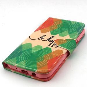 Knížkové puzdro pre mobil Samsung Galax J5 - be happy - 5