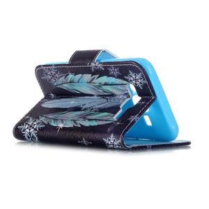 Emotive pouzdro na mobil Samsung Galaxy J5 - barevná peříčka - 5