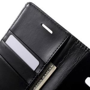 Mercury PU kožené pouzdro na mobil Samsung Galaxy J5 - černé - 5