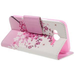 Dairy peněženkové pouzdro na Samsung Galaxy J5 - květoucí větvička - 5