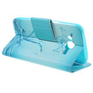 Dairy peňaženkové puzdro pre Samsung Galaxy J5 - vodní kvet - 5