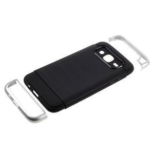 Odolný obal na mobil Samsung Galaxy J5 - stříbrný - 5