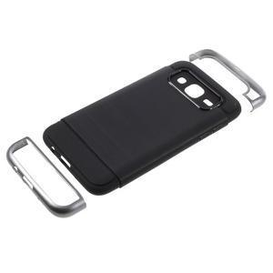 Odolný obal na mobil Samsung Galaxy J5 - šedý - 5