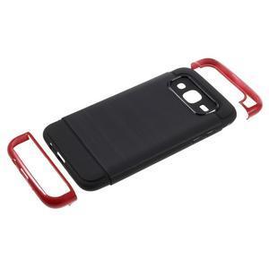 Odolný obal na mobil Samsung Galaxy J5 - červený - 5