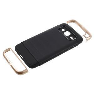 Odolný obal pre mobil Samsung Galaxy J5 - champagne - 5