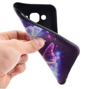 Jelly gelový obal na mobil Samsung Galaxy J5 - kouzelní motýlci - 5