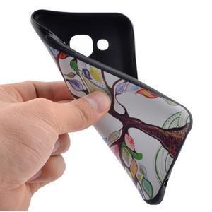 Jelly gélový obal pre mobil Samsung Galaxy J5 - malovaný strom - 5