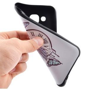Jelly gelový obal na mobil Samsung Galaxy J5 - antické hodiny - 5