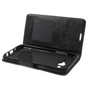 Crossy koženkové pouzdro na Samsung Galaxy J5 - černé - 5