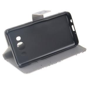 Style peňaženkové puzdro pre Samsung Galaxy J5 (2016) - láska - 5