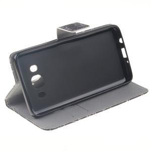 Style peňaženkové puzdro pre Samsung Galaxy J5 (2016) - vzorčeky - 5