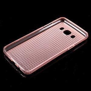 Diamnods gelový obal mobil na Samsung Galaxy J5 (2016) - růžový - 5