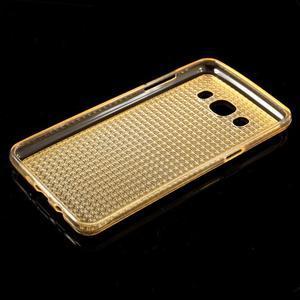 Diamnods gelový obal mobil na Samsung Galaxy J5 (2016) - zlatý - 5