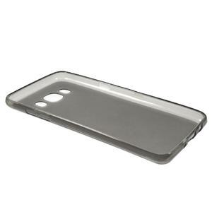 Oboustranně matný gelový obal na Samsung Galaxy J5 (2016) - šedý - 5