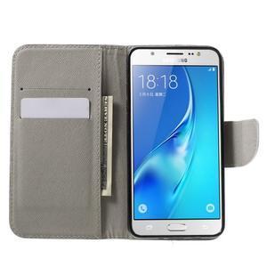 Nice peňaženkové puzdro pro Samsung Galaxy J5 (2016) - Eiffelova veža - 5