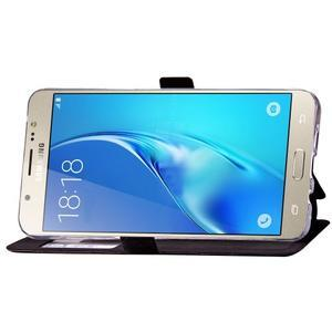 Stars pouzdro s okýnkem na mobil Samsung Galaxy J5 (2016) - černé - 5