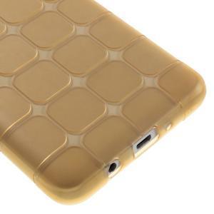 Cube gelový obal na Samsung Galaxy J5 (2016) - zlatý - 5