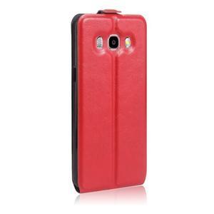 Flipové pouzdro na mobil Samsung Galaxy J5 (2016) - červené - 5