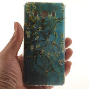 Gélový obal pre mobil Samsung Galaxy J5 (2016) - kvitnúci strom - 5