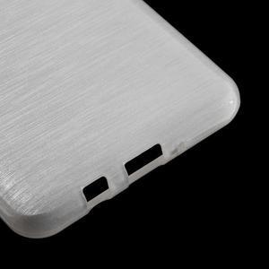Brushed gélový obal pre mobil Samsung Galaxy J5 (2016) - biely - 5