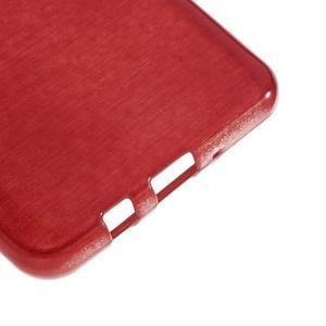 Brushed gelový obal na mobil Samsung Galaxy J5 (2016) - červený - 5
