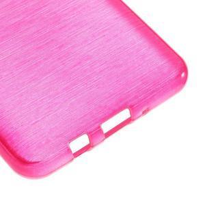 Brushed gelový obal na mobil Samsung Galaxy J5 (2016) - rose - 5