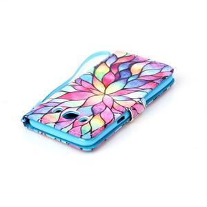 Etny pouzdro na mobil Samsung Galaxy J5 (2016) - barevné květy - 5