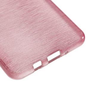 Brushed gelový obal na mobil Samsung Galaxy J5 (2016) - růžový - 5