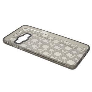 Square gélový obal pre Samsung Galaxy J5 (2016) - šedý - 5