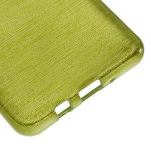 Brushed gélový obal pre mobil Samsung Galaxy J5 (2016) - zelený - 5