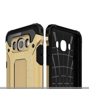 Armor 2v1 odolný obal na Samsung Galaxy J5 (2016) - zlatý - 5