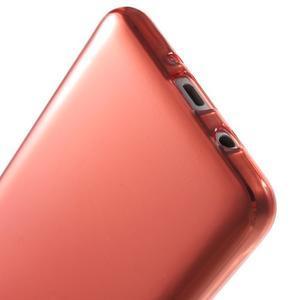 Ultratenký slim gelový obal na Samsung Galaxy J5 (2016) - červený - 5
