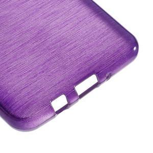 Brushed gelový obal na mobil Samsung Galaxy J5 (2016) - fialový - 5
