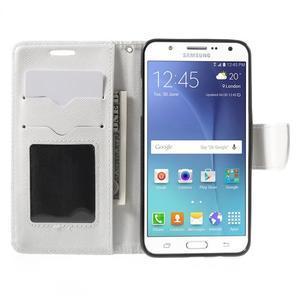Routy PU kožené pouzdro na Samsung Galaxy J5 (2016) - bílé - 5