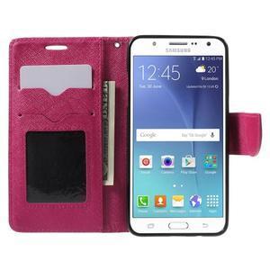 Routy PU kožené pouzdro na Samsung Galaxy J5 (2016) - rose - 5