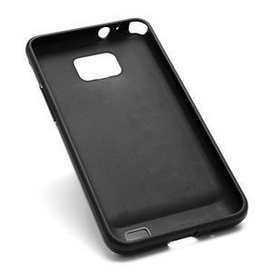 Cube odolný obal pre mobil Samsung Galaxy S2 - čierný - 5