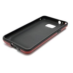Cube odolný obal pre mobil Samsung Galaxy S2 - červený - 5