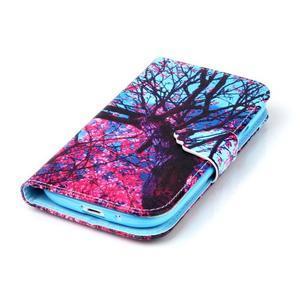 Emotive peňaženkové puzdro pre Samsung Galaxy S3 - strom - 5