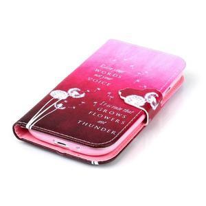 Emotive peňaženkové puzdro pre Samsung Galaxy S3 - púpavy - 5