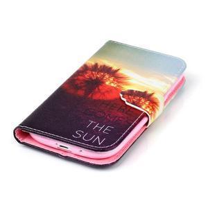 Emotive peňaženkové puzdro pre Samsung Galaxy S3 - východ slnka - 5