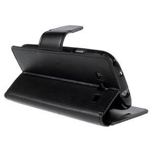 Diary PU kožené puzdro pre mobil Samsung Galaxy S3 - čierne - 5