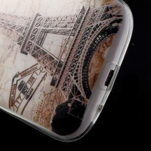 Ultratenký gelový obal na mobil Samsung Galaxy S3 - Eiffelova věž - 5
